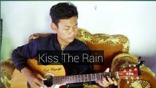 Kiss the rain gitar cover-faqih cy