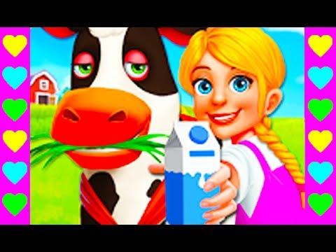 Мультик про ферму. Выращиваем овощи и ухаживаем за животными. Интересный детский мультфильм.
