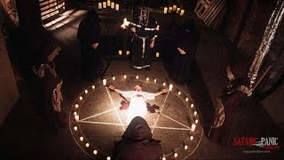 Apollyon Rising : Satanic Black Mass to summon Lucifer at Harvard using the Eucharist (May 12, 2014)