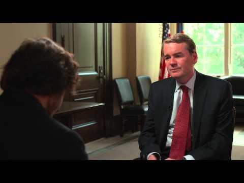 Founder Quinn Bradlee Interviews Colorado Senator Michael Bennet