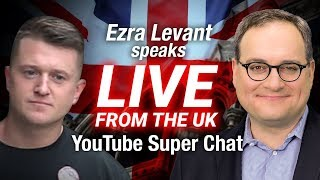 What happened to Tommy Robinson in court today? | Ezra Levant