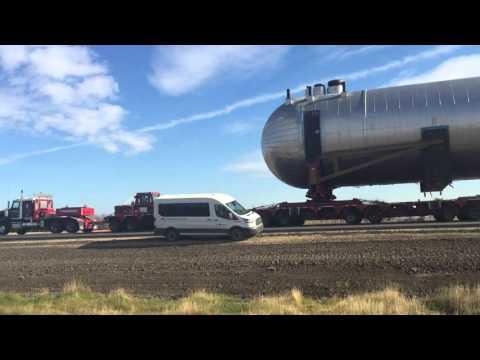 946,000kg load headin towards Fort McMurray Alberta!!