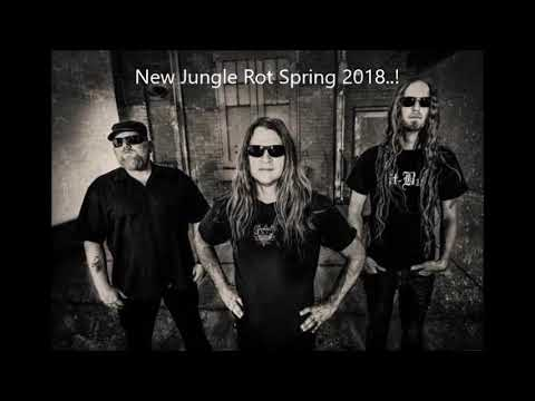 """new JUNGLE ROT album spring 2018! some new songs are """"Stay Dead"""" """"Twisted Mind"""" """"Fearmonger"""""""