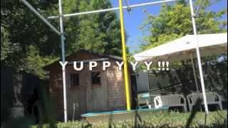 come costruire palo pole-dance girevole in giardino
