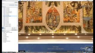 United Nations Mural Shows NWO Coming. Illuminati Freemason Symbolism.