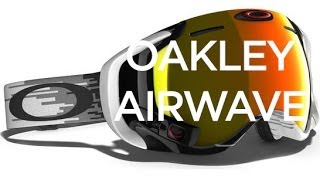 Oakley Airwave Goggle - Board Insiders - Oakley Goggles with Heads Up Display