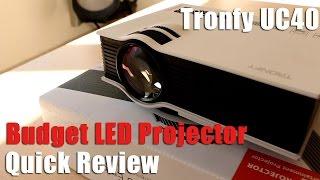 Tronfy UC40 LED Projector : Qu…