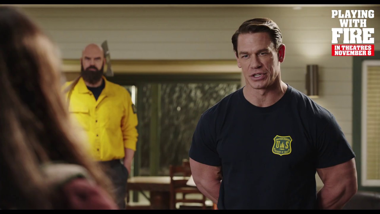 John Cena S Playing With Fire Movie Receives A Release Date