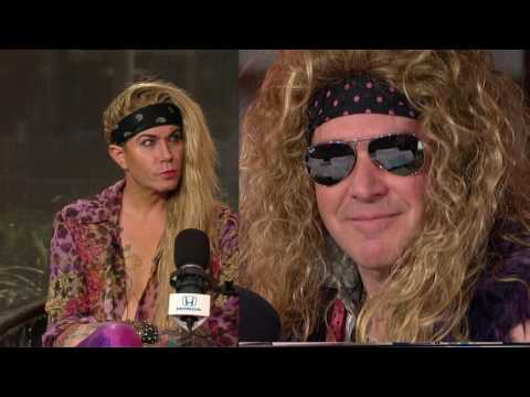 Lexxi Foxxx & Michael Starr of Steel Panther Ask Rich To Join Band on Stage in Wardrobe - 2/28/17