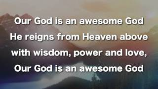Our God Is An Awesome God, Instrumental