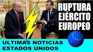 Ultimas noticias de EEUU, TRUMP MOLESTO CON LA UNION EUROPEA 11/11/2018