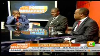 Power Breakfast: Who Fixed Ruto