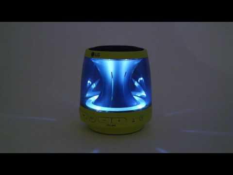 LG PH1 és PH2 hangszóró fényjátéka