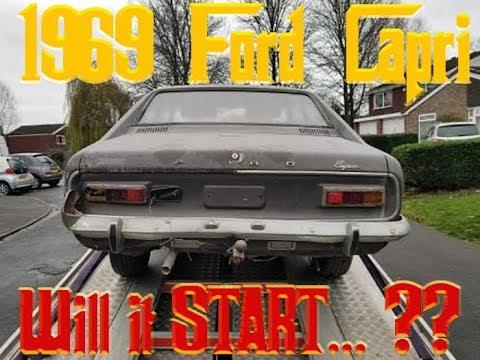 1969 FORD CAPRI Barnfind - Will It Start?  -  PART 1