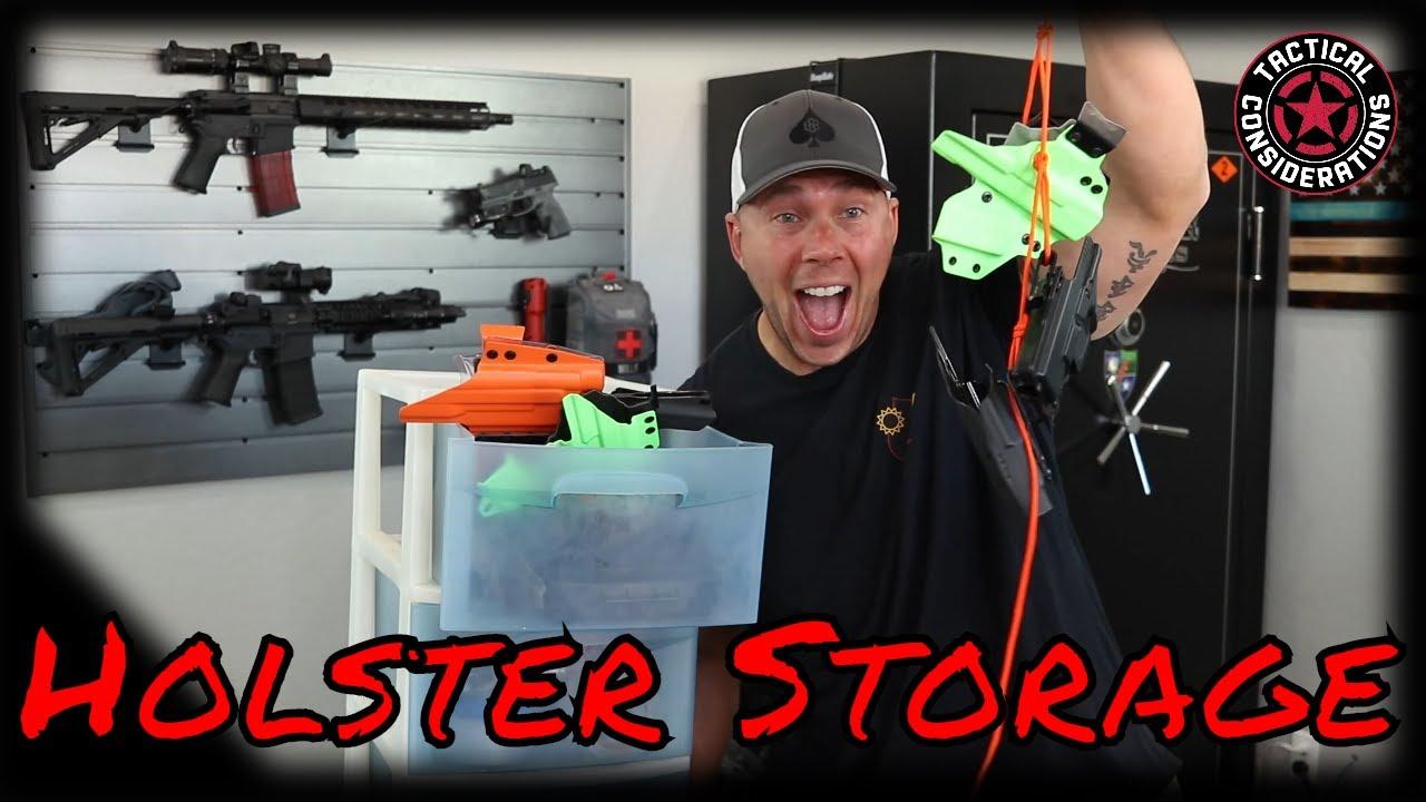 Holster Storage Hack I Was Bored You've Been Warned