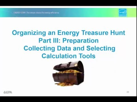 Organizing an Energy Treasure Hunt Part 3