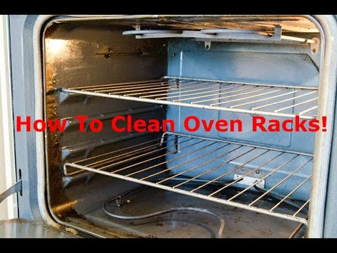 How to Clean Oven Racks! Kitchen Cleaning Ideas