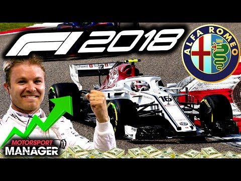 MASTERCLASS DRIVING IN THE LAST LAPS! - F1 2018 Alfa Romeo Manager Career Part 43