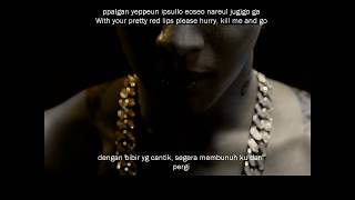 Taeyang Eyes Nose Lips MV English subs Romanization Malay