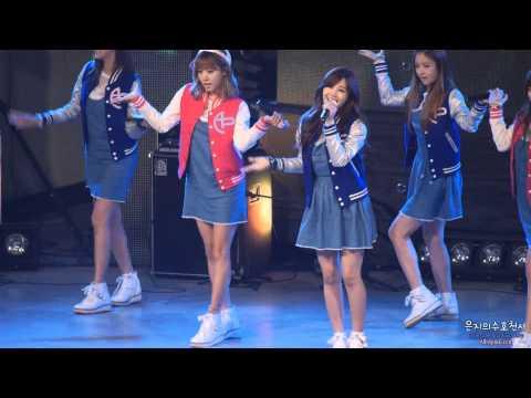 20131031 광운대학교 연촌가요제 축하공연 APink - Lovely Day 은지 직캠