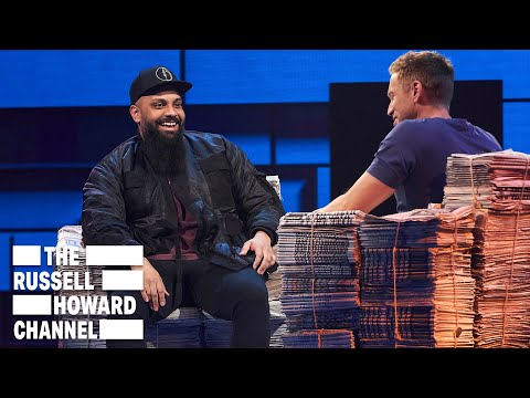Guz Khan Would Eat Weetabix With Water | Full Interview | The Russell Howard Hour