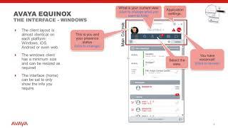 Avaya Equinox W2   A Windows Overview