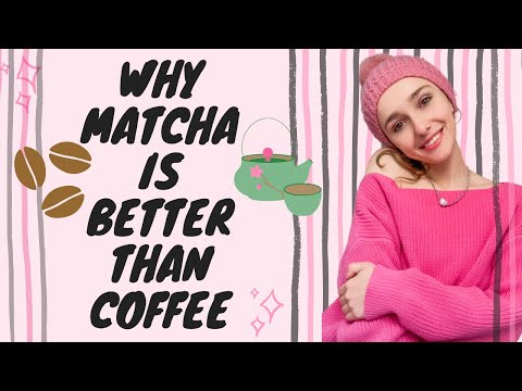 health benefits of MATCHA // why matcha is better than COFFEE