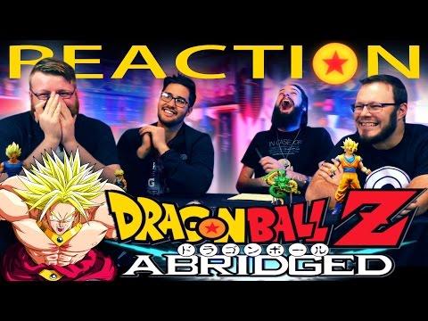 DragonBall Z Abridged Movie: BROLY REACTION!! TeamFourStar
