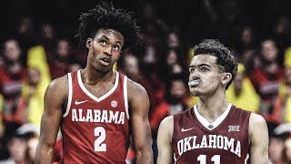 Trae Young vs Collin Sexton College Highlights 2018