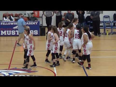 Fellowship Academy Basketball 2019 20 Dinner Video