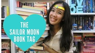 The Sailor Moon Book Tag (ORIGINAL)