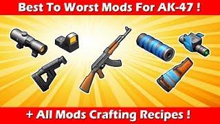Die besten & Schlechtesten Mods Für AK-47 Mit Crafting-Rezepte! Letzter Tag Auf Der Erde Überleben
