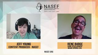 NASEF's Interview with Rene Barge, Miami Springs Senior High School