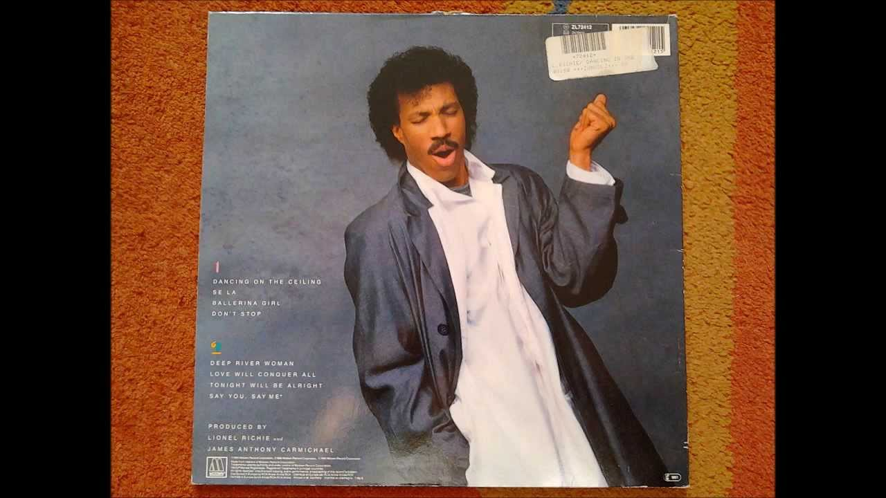 Lionel Richie   Dancing On The Ceiling   Dancing On The Ceiling   1986    Motown (Vinyl Record)
