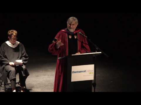 Montserrat College of Art 2017 Graduation Ceremonies