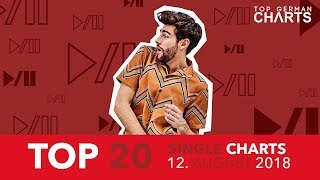 TOP 20 SINGLE CHARTS - 12. AUGUST 2018