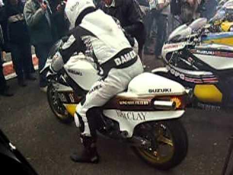 Bikers Classics Spa-Franchorchamps 2009, Suzuki RG500 Boet van Dulmen