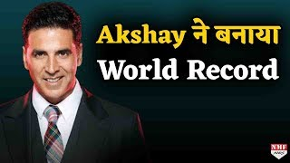 Akshay    World Record     Bollywood