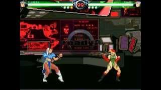 Mugen Match 023 Cat Fight