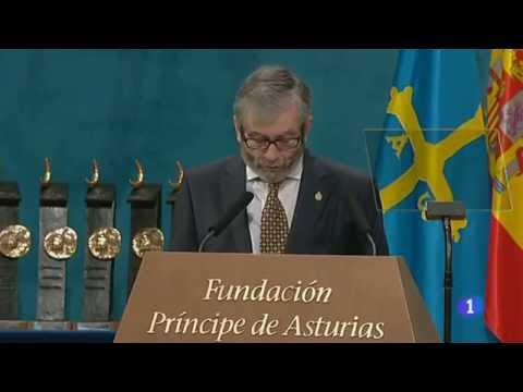 Antonio Muñoz Molina. Discurso Premio Principe De Asturias De Las Letras 2013. HD - 5.1