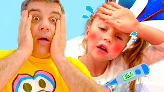 Nastya finge estar enferma, una historia moral para niños