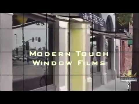 Modern Touch Window Films Commercial Tint