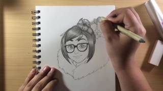 Mei Speed Drawing