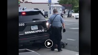 'I Can't Breathe' Watch as handcuffed black man dies while white police officer kneels on his neck