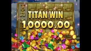 Titan Thunder Slot - Win up to £100,000 on a Titan Jackpot!!