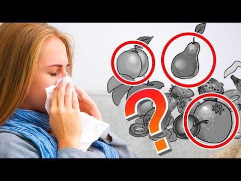 Пищевая АЛЛЕРГИЯ у детей и взрослых, сыпь на лице, на коже, 5 продуктов против аллергии, лечение!