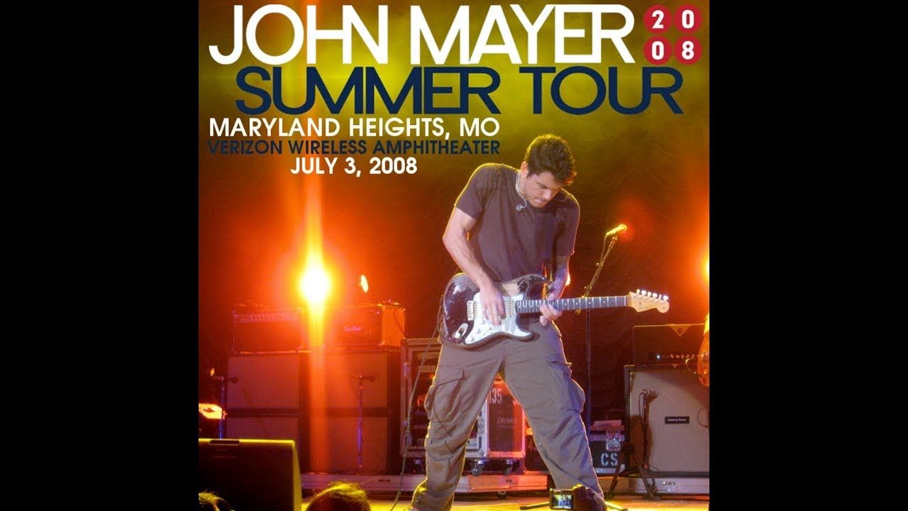 Slow Dancing In A Burning Room (Live In Maryland Heights 2008)   John Mayer