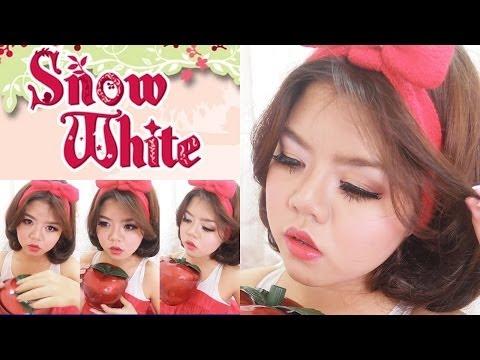 แต่งหน้าเป็นสโนว์ไวท์ (Snow White Disney Princess)