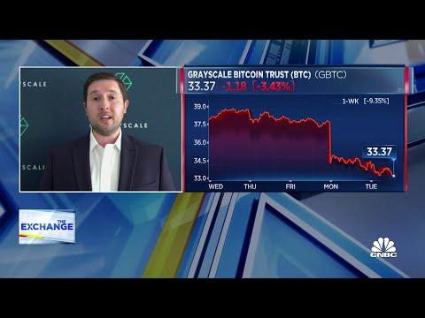 Bitcoin takes a tumble amid market sell-off