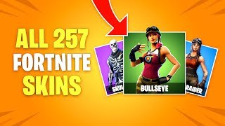 ALL 257 Fortnite Battle Royale Skins